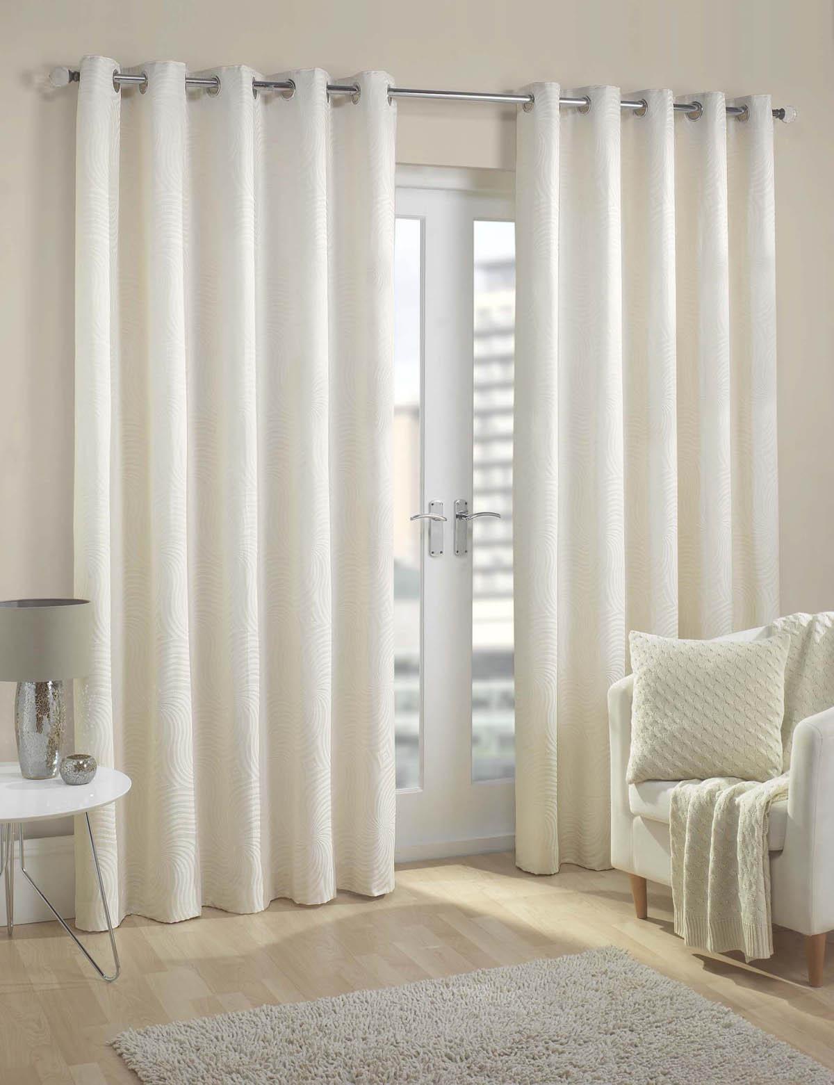 White Eyelet Curtains Uk Part - 24: Metz Ready Made Eyelet Curtains