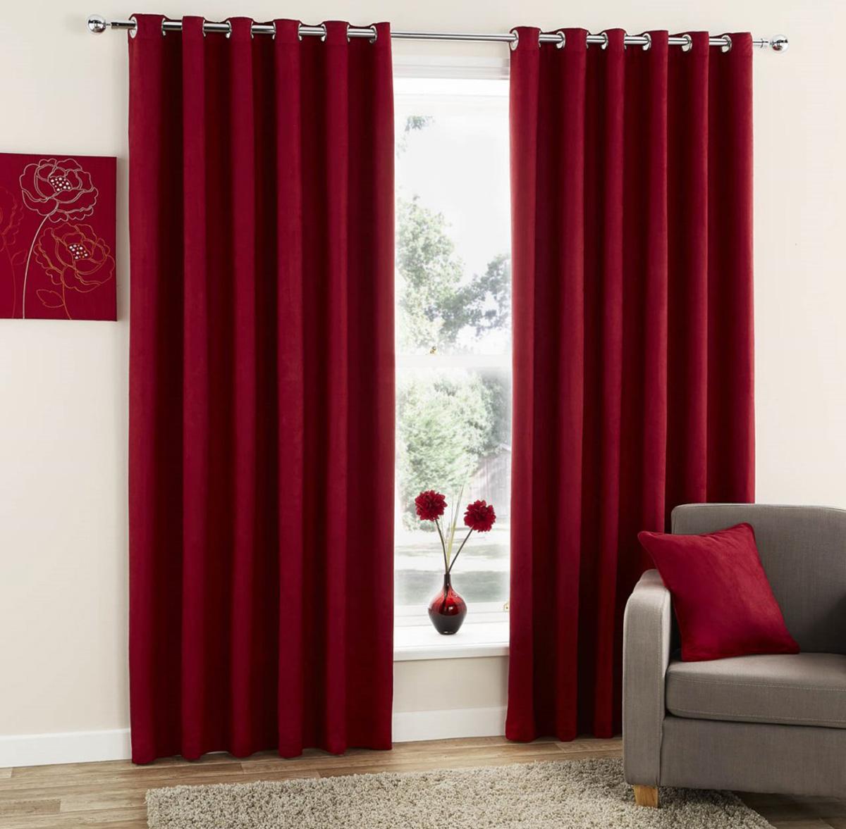 Plum curtains - Redfrom 23 63