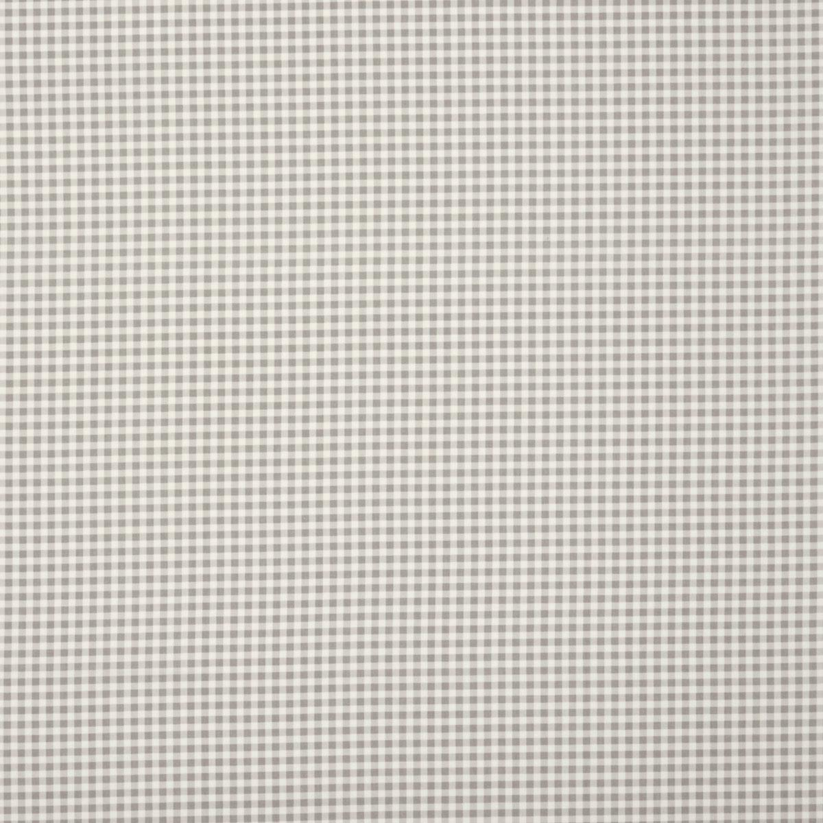 Gingham Curtain Fabric - Grey - Terrys Fabrics UK