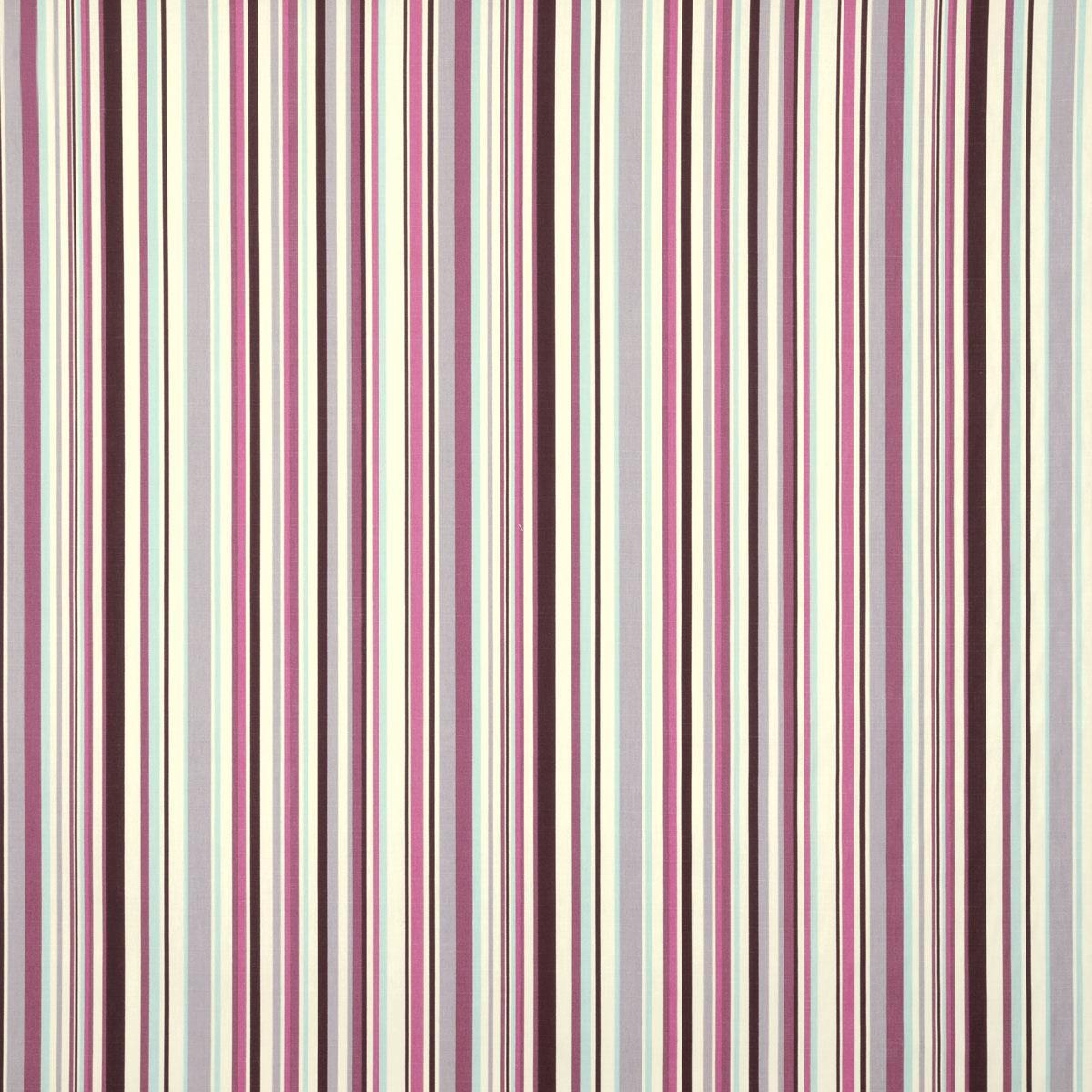 Berry goa stripe curtain fabric terrys fabrics uk