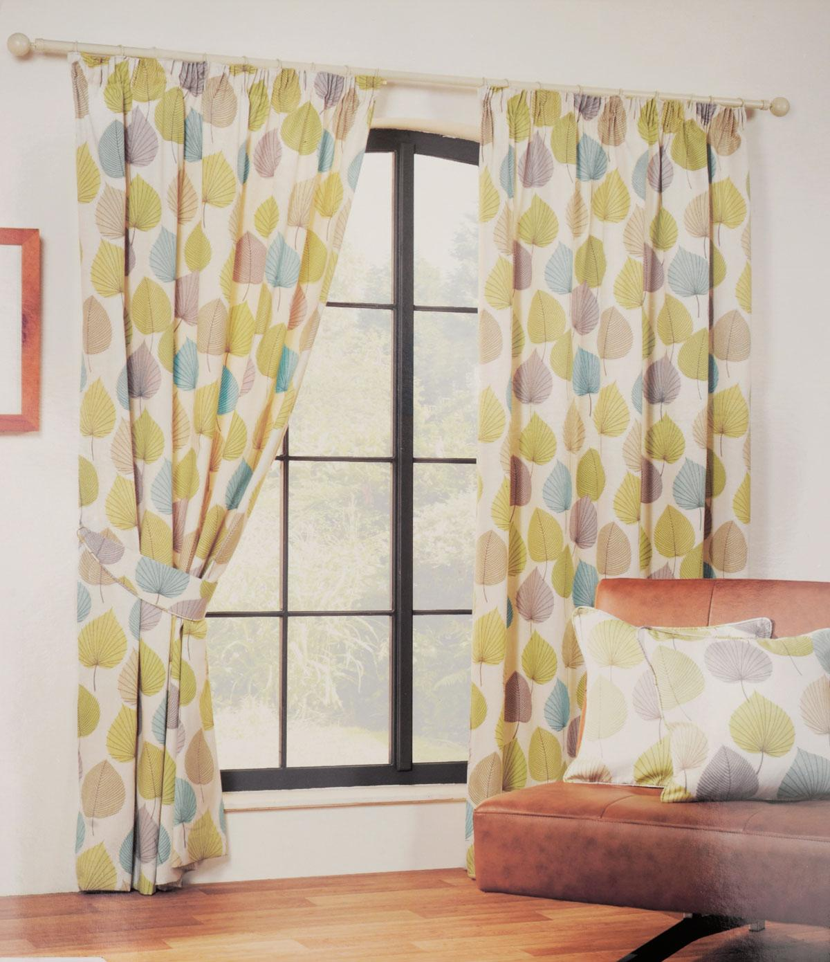 Inglewood Ready Made Curtains In Green