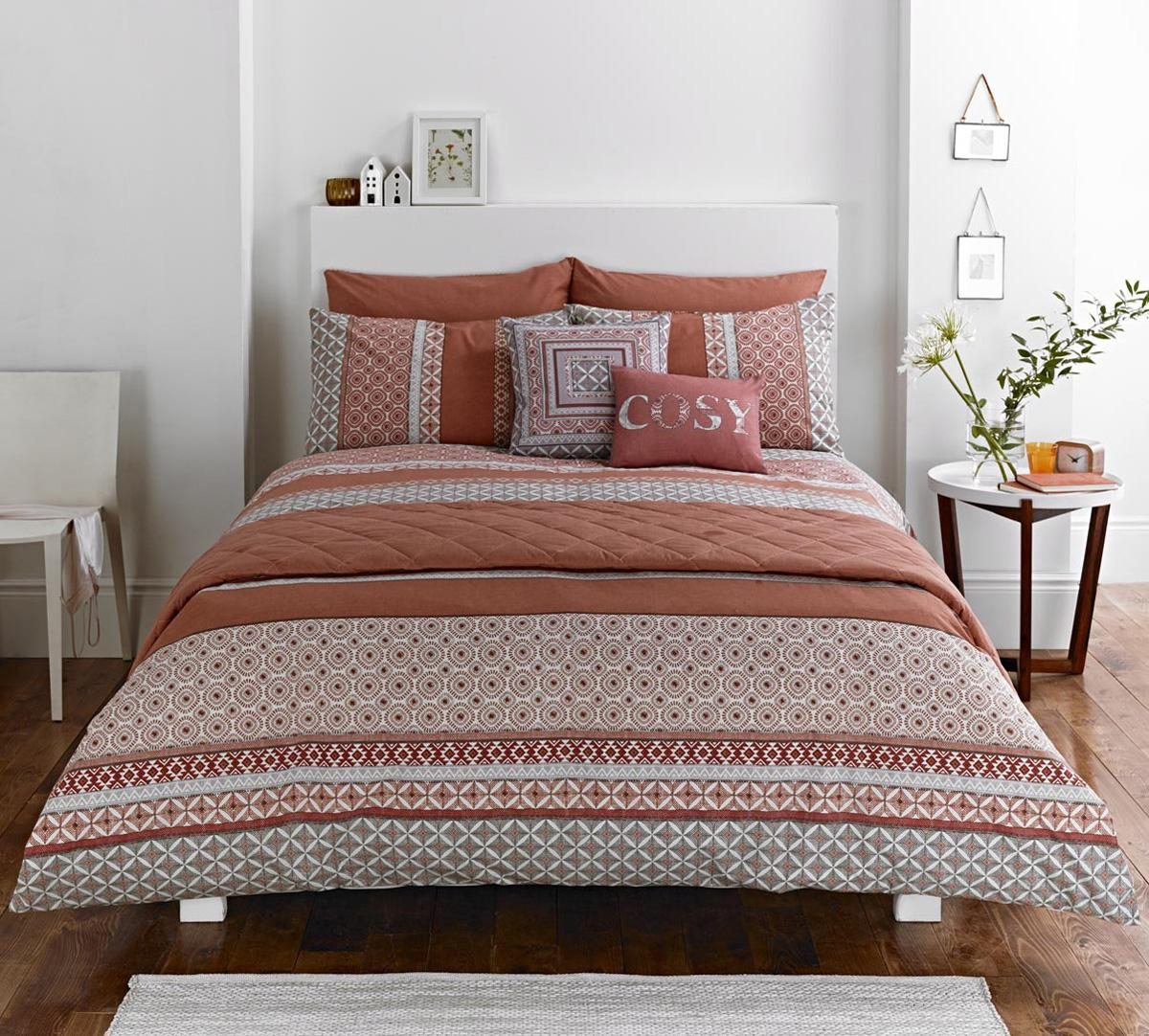 geometric shapes duvet covers  bedding and duvet covers  terrys  - kalisha bedding set