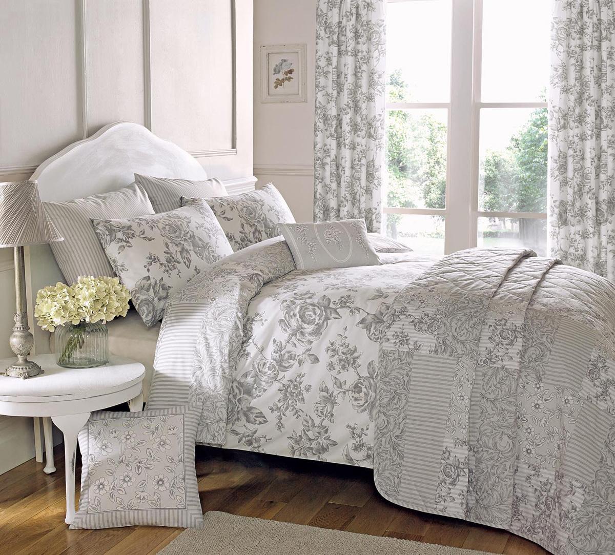 malton bedding set in slate  free uk delivery  terrys fabrics - malton bedding set