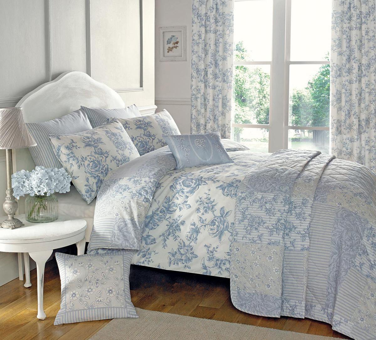 malton bedding set. malton bedding set in blue  free uk delivery  terrys fabrics