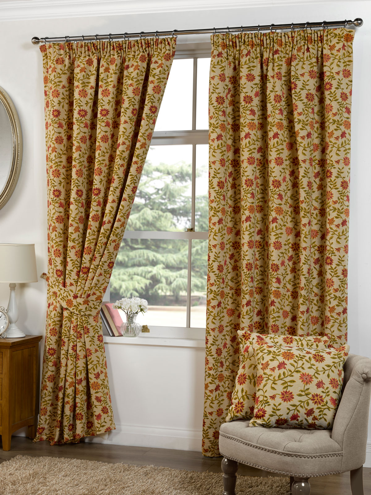 Rani Ready Made Lined Curtains