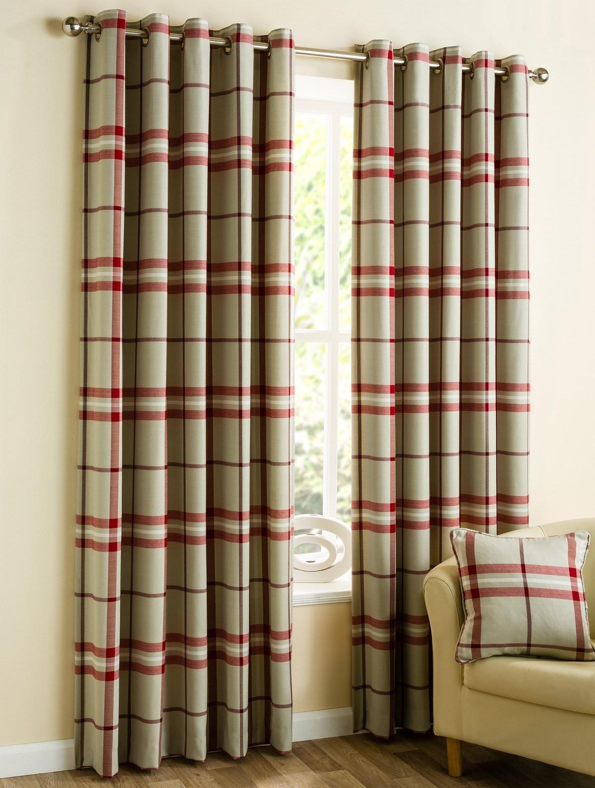 Red Plaid Kitchen Curtains Kitchen Curtains Red Checkered Cliff Kitchen