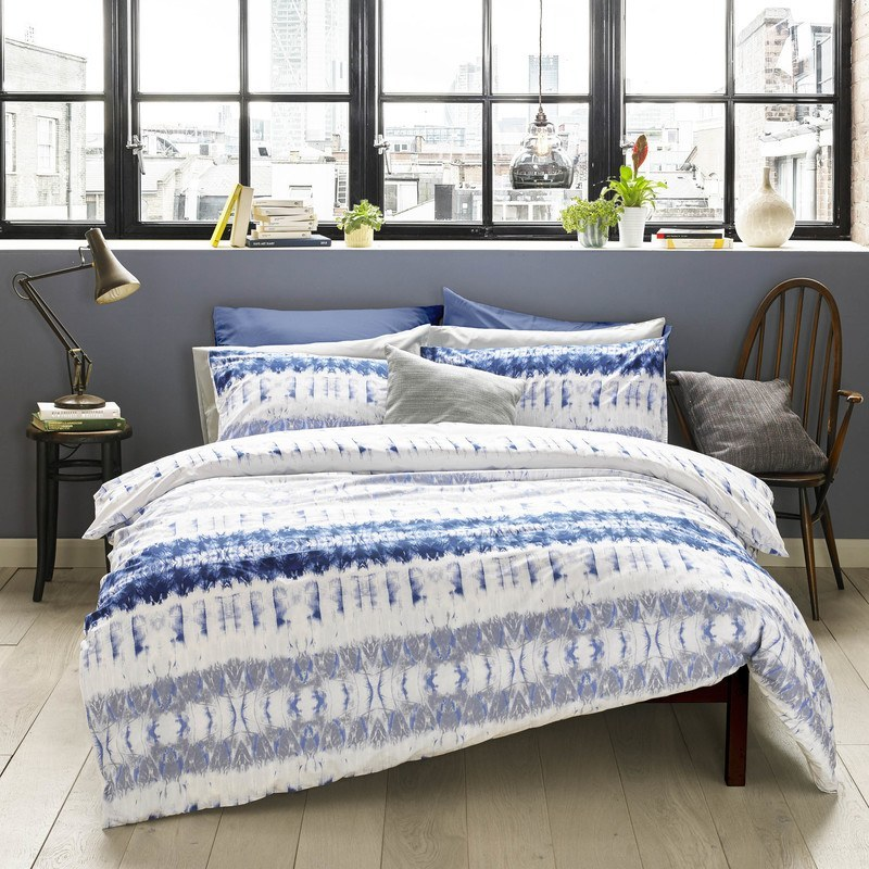 Superior Indigo Bed Linen Part - 12: Blueprint Arizona Bedding