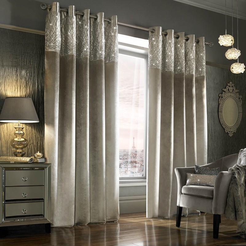 Kylie Minogue Esta Eyelet Curtains Free Uk Delivery