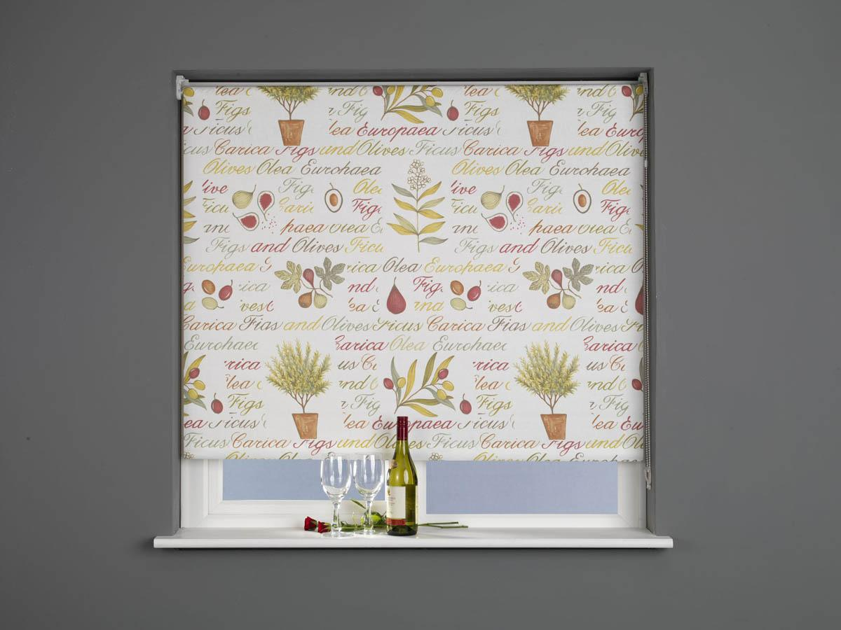 Lifestyle Roller Blind Kitchen Garden