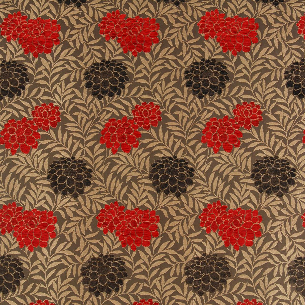 Curtain Fabric Red Chocolate Malham Curtain Fabric Free Uk Delivery Terrys