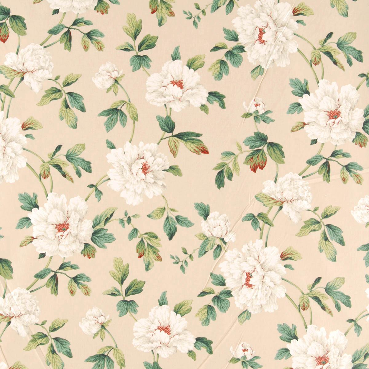 Jardin Curtain Fabric Chintz