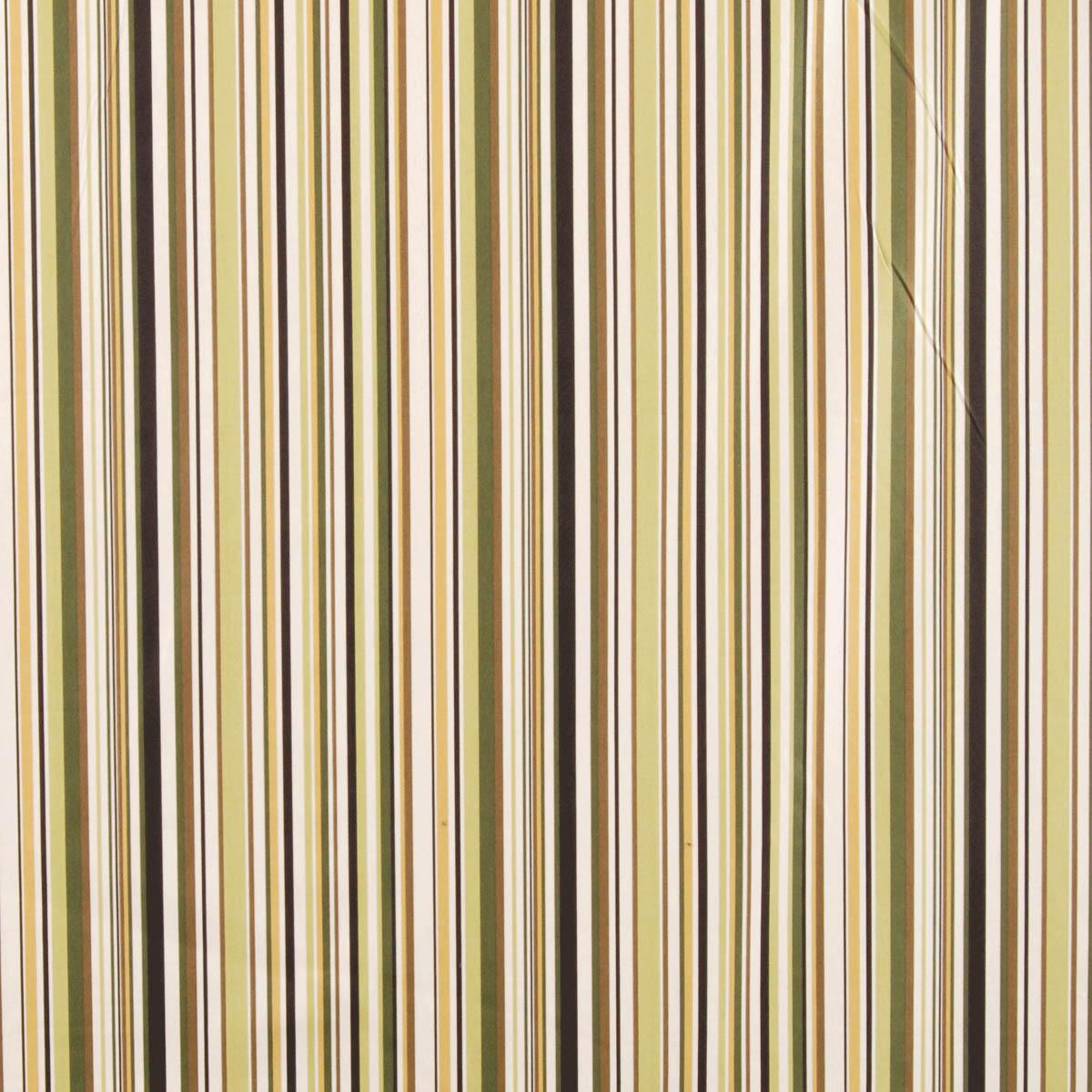 Sage Goa Stripe Curtain Fabric Curtain Fabric Cheap UK Delivery - Black and gold stripe drapery fabric