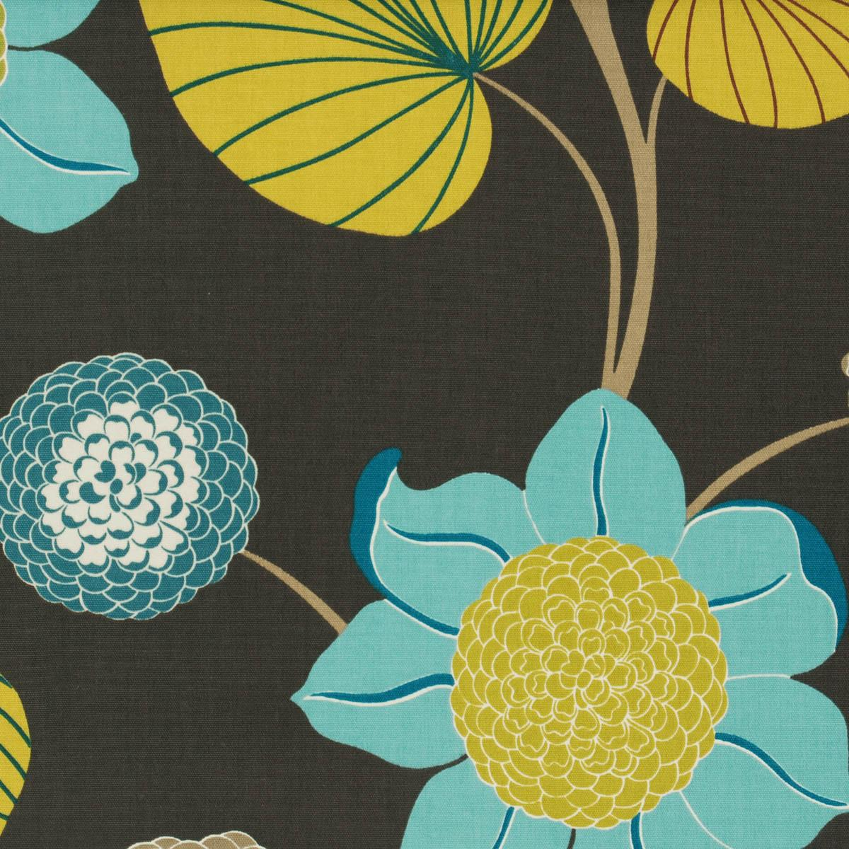 Delilah Curtain Fabric Petrol | Free UK Delivery | Terrys Fabrics