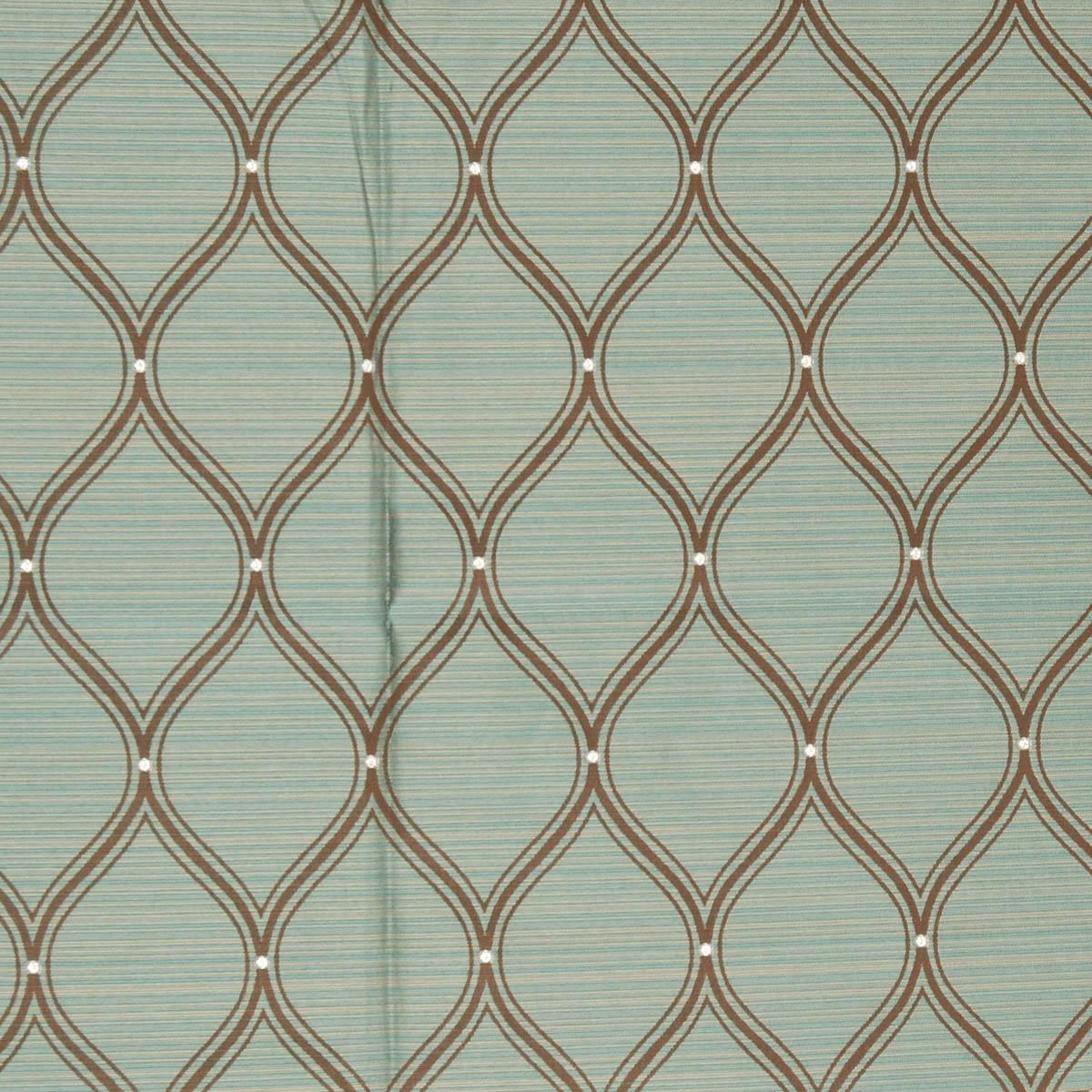 Luxor Curtain Fabric Teal | Free UK Delivery | Terrys Fabrics