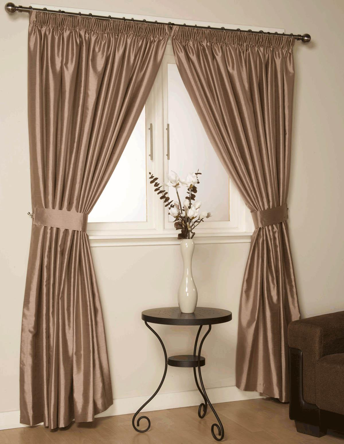 Curtains Latte Como Ready Made Curtains Free Uk Delivery Terrys Fabrics