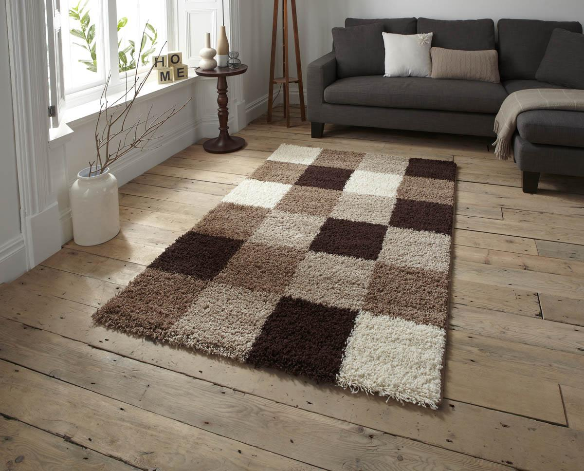 Beige brown majesty 2247 designer rug free uk delivery for Floor mat design