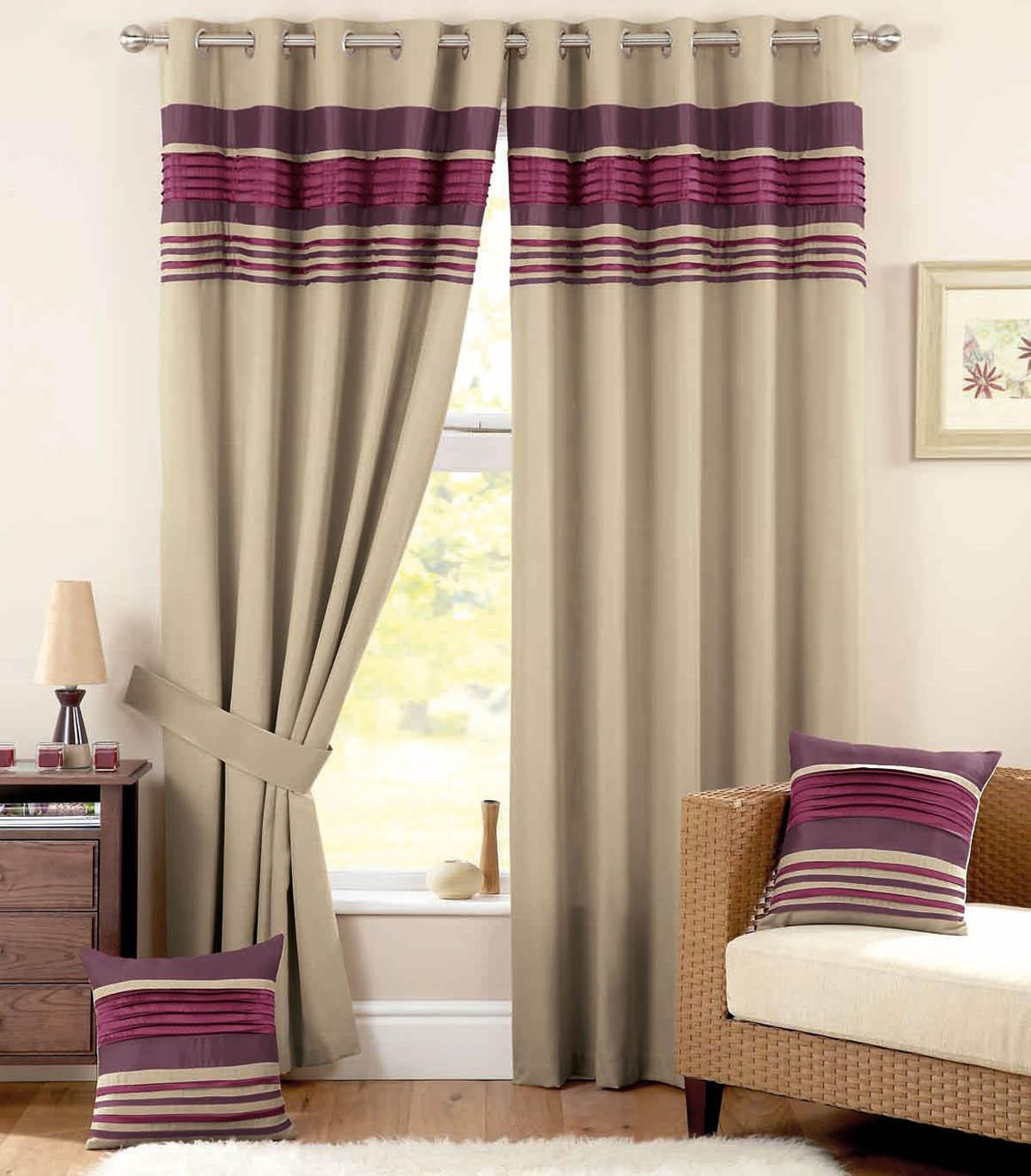 Charming Vancouver Ready Made Eyelet Curtains