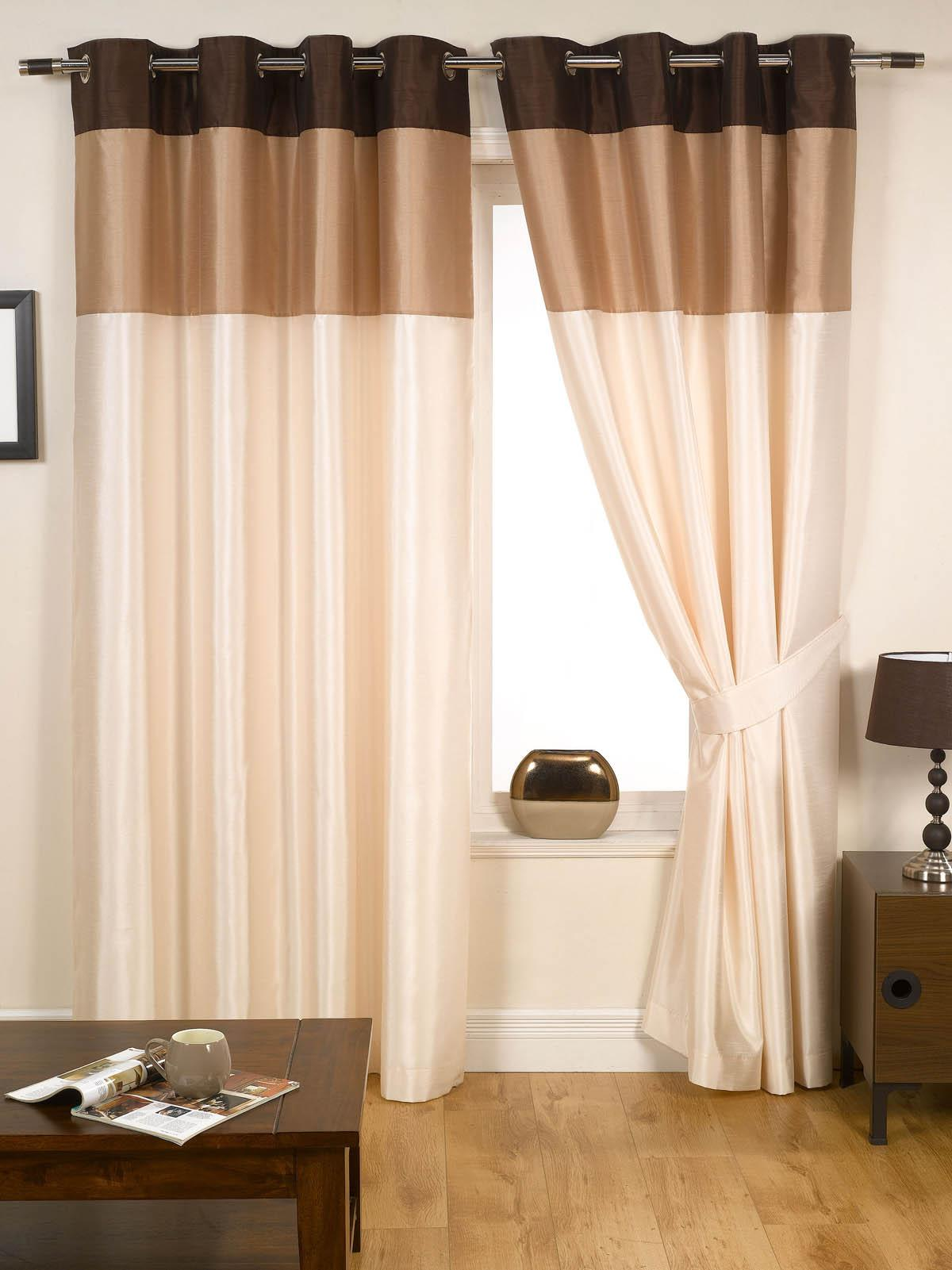 Brown Bedroom Curtains | Affordable Window Curtains | Terrys Fabrics