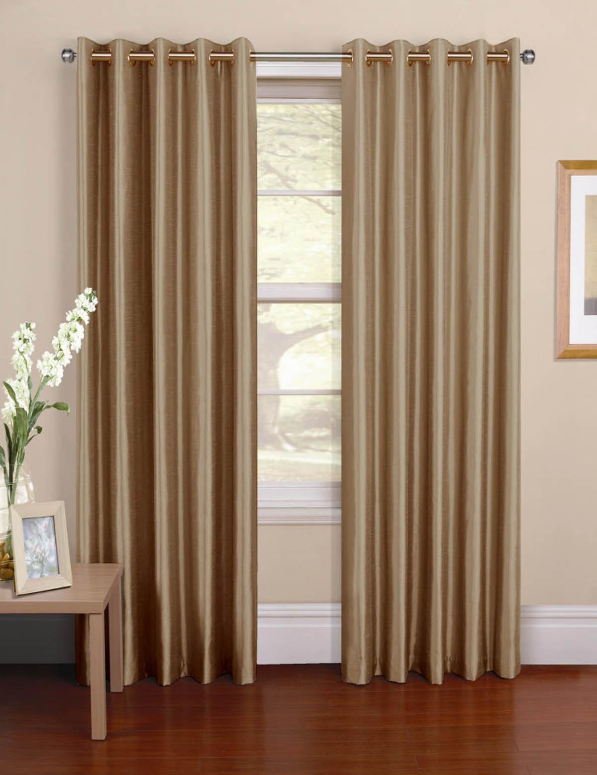 Purple silk curtains - Venezia Ready Made Eyelet Curtains