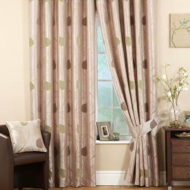 Pemberley Ready Made Eyelet Lined Curtains