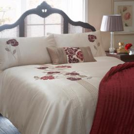 Blanche Embroidered Duvet Cover
