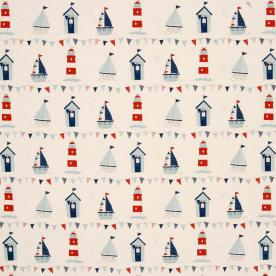 Maritime Curtain Fabric