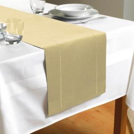 Hem Stitch Table Runner