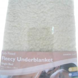 Fleece Under Blanket