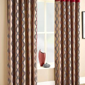 Campania Lined Eyelet Ready Made Curtains