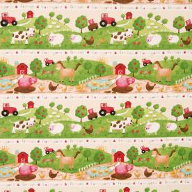 Farm 4580 Curtain Fabric