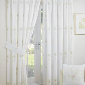 Libby Lined Voile Ready Made Curtain