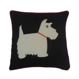 Scottie Dog Cushion