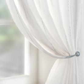 Chain Voile Curtain Panel