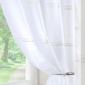 Trio Voile Curtain Panel