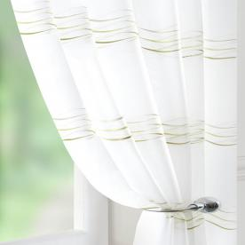 Waves Voile Curtain Panel