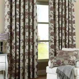 Santiago Thermal Lined Ready Made Eyelet Curtains