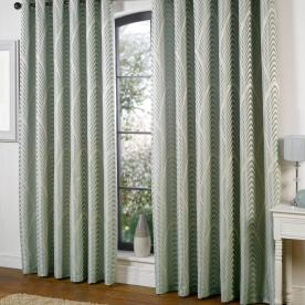 Dakota Lined Eyelet Ready Made Curtains