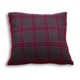 Zermatt Check Cushion