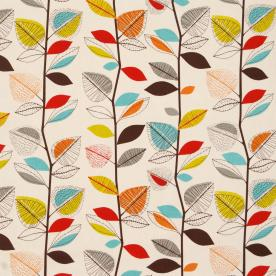 Autumn Leaves Curtain Fabric