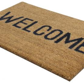 PVC Welcome Coir Doormat