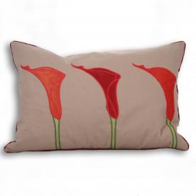 Cala Lily Filled Boudoir Cushion