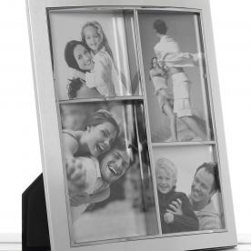 Anodised Photoframe 4 Picture Multi Aperture