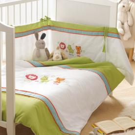 Safari Friends 3 piece Cot Set