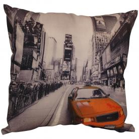 Taxi Filled Cushion