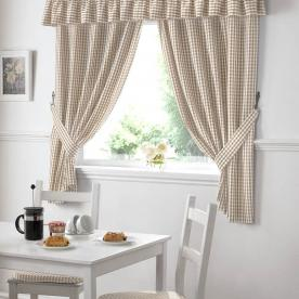 Gingham Value Kitchen Curtains