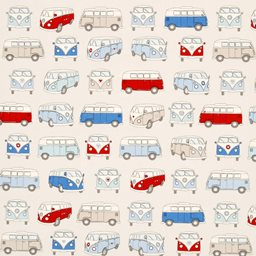 Campervans Curtain Fabric