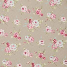 English Rose Curtain Fabric