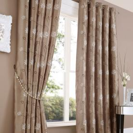 Notting Hill Eyelet Lined Curtains