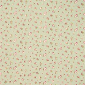 Rosebud Curtain Fabric