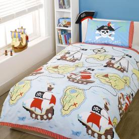 Treasure Quest Printed Duvet Set Single